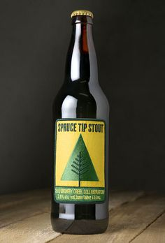 Spruce Tip Stout Label #beer #patch #bottle