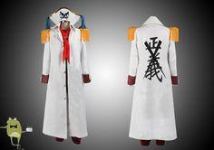 One Piece Buggy Marineford Coat Cosplay Costume #buggy #marineford #coat
