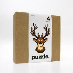 puxxle — Reindeer #reindeer #puxxle #yoyo #puzzle #pixel #gaming #art