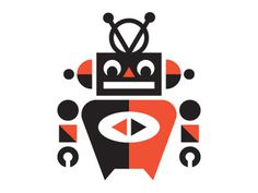 Shot_1293139363 #branding #robot #illustration #identity #logo