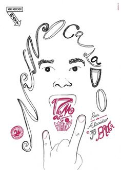 Nuno Calado - João Loureiro — Graphic Design #draw #calado #nuno #poster #hand