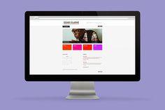 Responsive website—Seany Clarke #musician #design #web #brighton