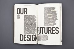 "MagSpreads - Magazine Design and Editorial Inspiration: The Design Society Journal â""– 2 #magazine"