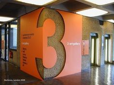 Design by Cartlidge Levene and Studio Myerscough #design #cartlidge #graphic #levene #wayfinding #barbican