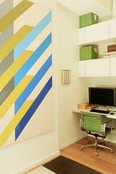 Friday Inspiration 30 | Jared Erickson #furniture #office #mural #wall