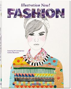 Illustration Now! Fashion #inspiration #cover #illustration #portrait #fashion #magazine