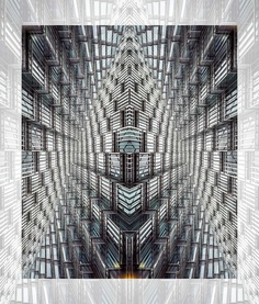 Geometrical: Abstract Architecture Manipulations by Jesus M. Chamizo