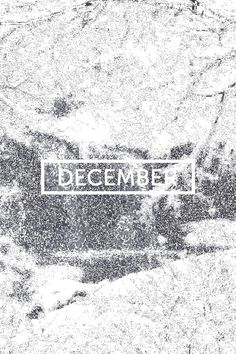 December | © | AOI #december #winter #fall #typography