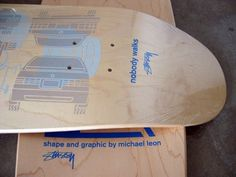 Stussy LA Cruiser 2003 — The Stacks Review #screenprint #skateboard #stussy