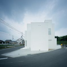 House of Diffusion #boxes #architecture #japan #facades