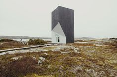 Mysteries of Fogo Island on Behance #house