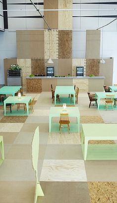 wood pixel #interior #cafe #furniture #store