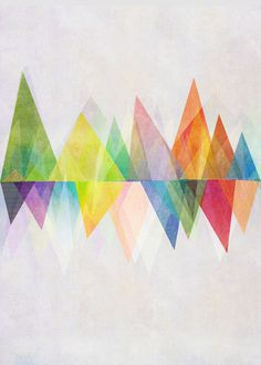 Graphic 37 Art Print #triangle #eq