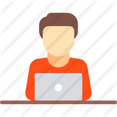 See more icon inspiration related to laptop, computer, worker, people and employee on Flaticon.