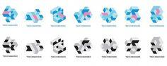 Jared Erickson | Because I Can #dynamic #branding #geometric #deichmanske #identity #cube