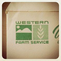Fanagr.am #logo #found #draplin #western