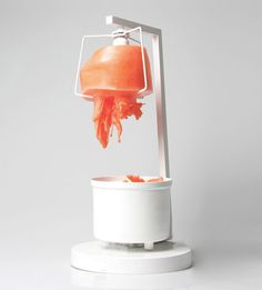 Regenerative wax lamp by Merve Kahraman #lamp #wax