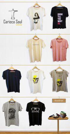 Carioca Soul | Vitrine | Identidade Visual de Pagina #carioca #shirt #tee #vitrine #shirts #soul