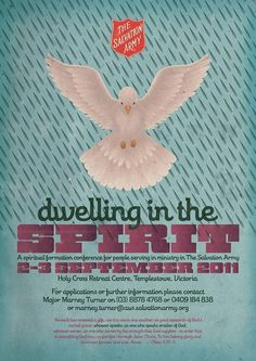 Dwelling In The Spirit Conference - Fonts In Use #typography