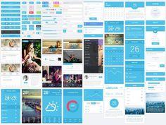 free ui kits for_designers_07 #dashboard