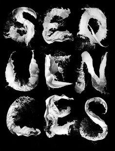 Sveinn Davíðsson — Sequences 2008 #typography