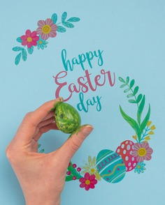 Happy easter day Free Psd. See more inspiration related to Flower, Mockup, Template, Leaf, Spring, Leaves, Celebration, Happy, Holiday, Flat, Mock up, Easter, Plant, Drawing, Religion, Rabbit, Egg, Traditional, Bunny, View, Up, Happy easter, Day, Top, Top view, Eggs, Flat lay, Cultural, Tradition, Painted, Mock, Seasonal, Easter day, Lay, Paschal and Painted egg on Freepik.