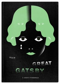"The Fox Is Black » Re-Covered Books: The Great Gatsby Winner Philipp Dornbierer #""book #cover"""