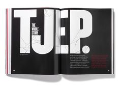Futu Magazine Matt Willey #type #print #spread #magazine