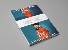 The Universal Zine - Kasper Pyndt Studio #astronaut #space #magazine