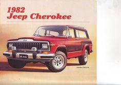 cherokeechief820002lq6 #cheif #jeep #vintage #ad #cherokee