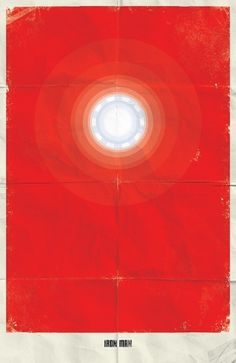 Marvel Minimalist Posters on the Behance Network #man #iron