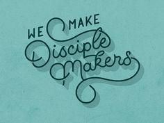 Disciple Makers Mural by Joshua Redmond