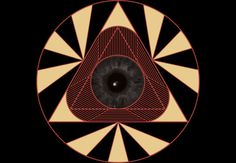 A newer concept of the eye of providence. Available on Design by Humans