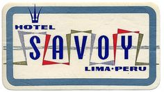 Untitled | Flickr - Photo Sharing! #luggage #travel #vintage #label