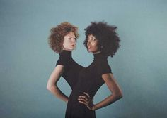 Twins by Alma Haser #inspiration #photography #portrait