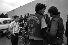 Riding With the Hells Angels by Bill Ray for LIFE | Iconology #ray #bill