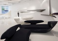 Zaha Hadid Design Gallery opens to the public #hadid #zaha