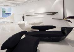 Zaha Hadid Design Gallery opens to the public #hadid #zaha