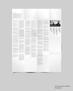 Jorge_poster-B-side | Flickr - Photo Sharing! #ckcheang #somethingmoon #design #graphic #poster #brochure