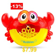 Education #Toy #Electric #Blow #Bubble #Machine #without #Bubble #Water #- #RED