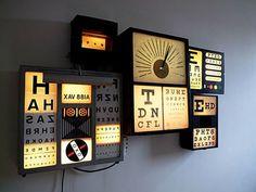 Typographic Lightbox #light box