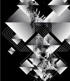 Elan Puzzle TBT ski   vbg.si - creative design studio #illustration #pattern #ski
