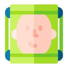 See more icon inspiration related to face, facial recognition, face recognition, electronics, scanner, head, multimedia, people and technology on Flaticon.