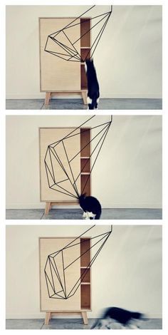 print cupboard - filmstill - thankstothetree.be #interior #design #geometric #furniture #thankstothetree