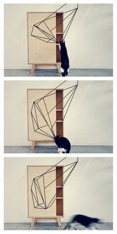 print cupboard - filmstill - thankstothetree.be #interior #design #geometric #furniture #thankstothetree