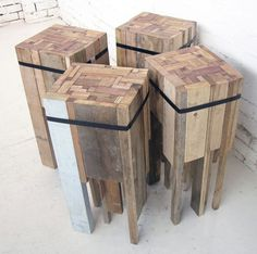 Offcut Stool #interior #creative #modern #design #furniture #architecture #art #decoration