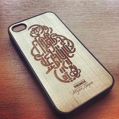 Wooden case by André Beato #andre #design #iphone #case #beato #kronex #typography