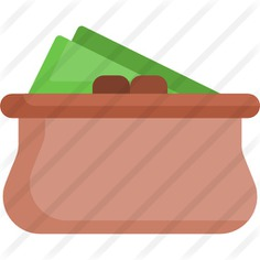 See more icon inspiration related to cash, purse, wallet, pay, bills, fashion, business and money on Flaticon.