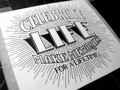 Sevenly Celebrate Life #type
