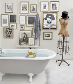 French Chic : The Design Chaser: Guest Post | We Heart Home #interior #design #bathroom